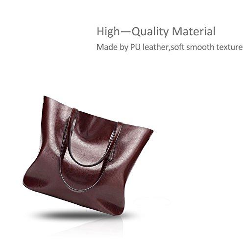 Soft Shoulder Women Bag Messenger Tote Nicole Coffee Casual Leather PU Ladies amp;Doris Coffee Crossbody Handbag qcWcgTv1y