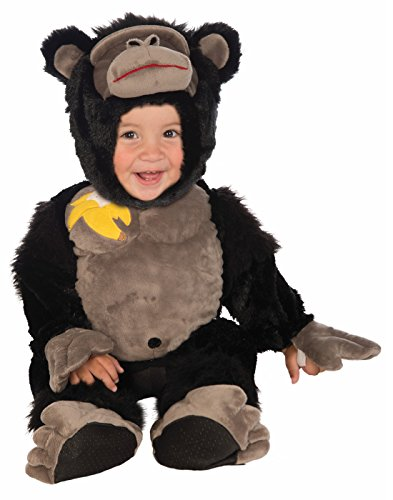 - Forum Novelties Baby Boy's Plush Cuddlee Gorilla Costume, Multi, Infant