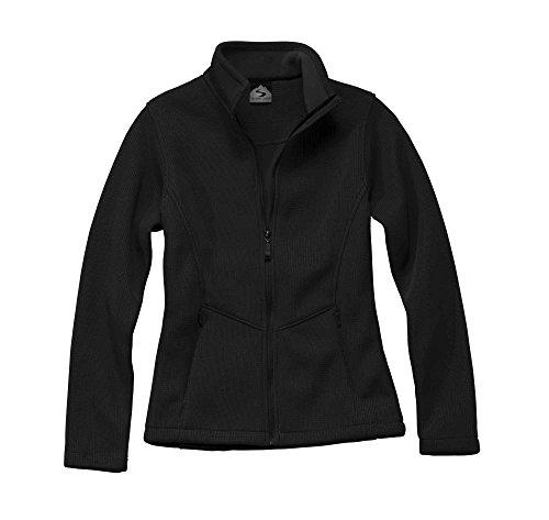 Flair Fleece Jacket - Storm Creek Women's Danielle Ironweave Jacket, Black, X-Large