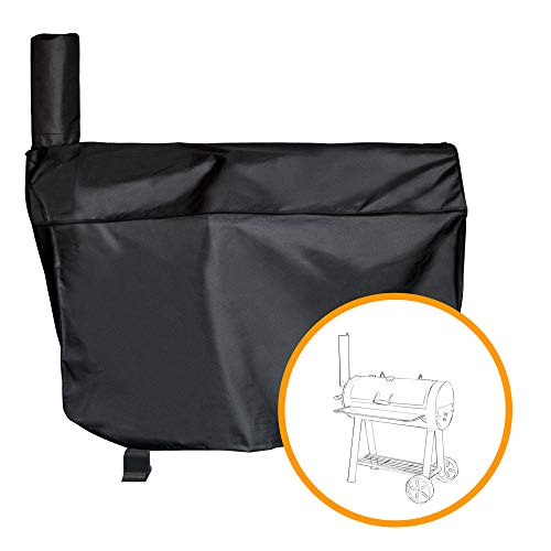 i COVER Charcoal Grill Cover- Heavy Duty Weather-Resistant Polyester Material,Water Proof Patio Outdoor Canvas Grill Cover,Sized for Dyna-Glo Charcoal Grill Models DGSS730CBO,DGSS730CBO-D
