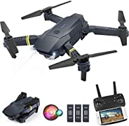 ORRENTE Drone with Camera for Adults, WiFi FPV Drone with 1080P HD Camera for Beginners, Drone Training with S