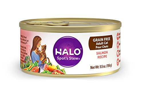 Halo Holistic Grain Free Natural Wet Cat Food for Adult Cats