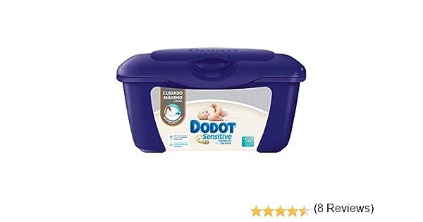 Dodot Sensitive - Caja de para bebé 54 Toalitas - Pack de 6 (Total ...