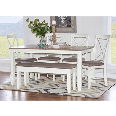 Powell Jane 6 Piece Dining Set