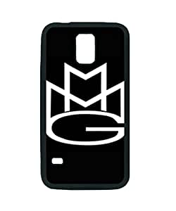 Meek Mill Logo ~ Fashion Durable Unique RUBBER Durable Case Cover Skin for Samsung Galaxy S5 i9600 - Black Silicone Case / ABCone Tpu Protective S5 Case