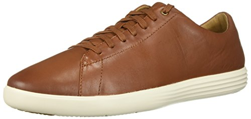 Cole Haan Women's Grand Crosscourt Sneaker, Tan Leather Burnished, 14 W US (Shoes Loafers Cole Haan Womens)