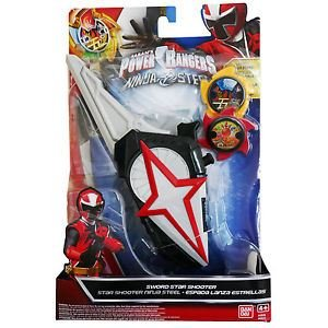 Amazon.com: power rangers Ninja Espada de acero Star Shooter ...