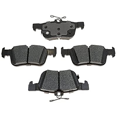 ACDelco 17D1665C Professional Ceramic Front Disc Brake Pad Set: Automotive