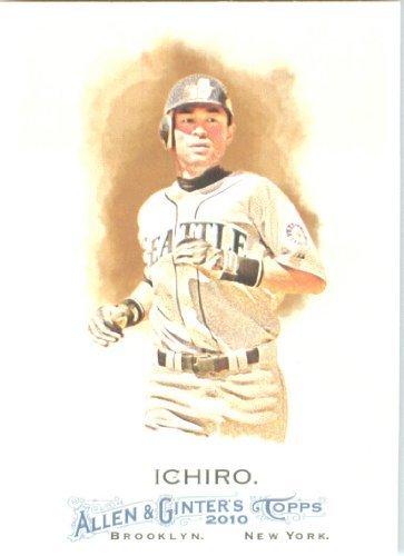 2010 Ichiro Suzuki Rookie Card - 2010 Topps Allen and Ginter Baseball Card # 149 Ichiro Suzuki - Seattle Mariners - MLB Trading Card