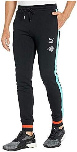 [PUMA(プーマ)] メンズパンツ・ショーツ等 LuXTG Luxe Sweatpants PUMA Black M 33 [並行輸入品]