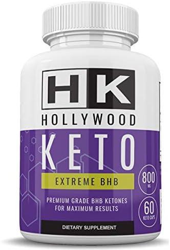 HK - Hollywood Keto Exteme BHB - Premium Grade BHB Ketones for Maximum Results - 30 Day Supply 1