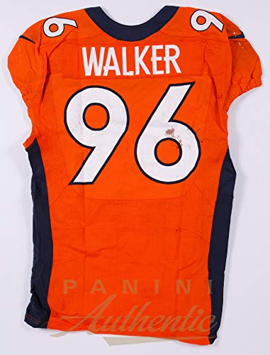 d0de4576 Vance Walker Denver Broncos Game Worn Jersey/Pant Set From 11/29/2015 vs  the New England Patriots ~Limited Edition 1/1~ - Panini Authentic - Panini  ...