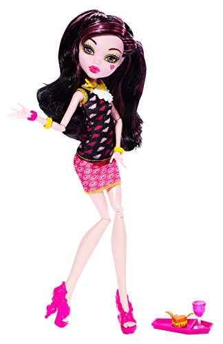 Monster High Creepateria Draculaura - Shoes Yellow Heart Doll
