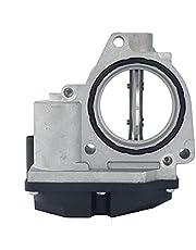 Throttle Body Regulating Flap Anti Shudder Valve 5 pin, Fit for VW Jetta Mk5 TDI Diesel BRM 2005 2006 1.9L L4, Replace# 03G128063A, 03G128063Q
