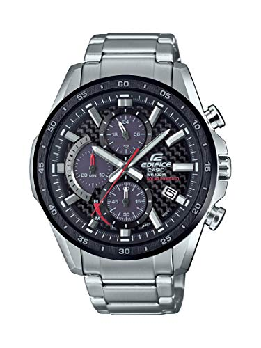 Casio-Mens-Edifice-Quartz-Watch-with-Stainless-Steel-Strap-Silver-22-Model-EQS-900DB-1AVCR