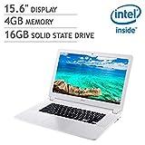 Acer 15.6' Full HD IPS Premium Flagship Chromebook - Intel Celeron Dual-Core 3205U 1.5GHz, 4GB DDR3,...
