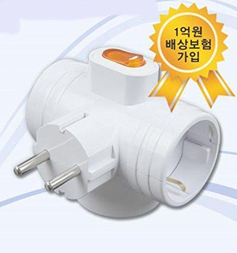 T Bone Korean Power Adapter 220 250V product image