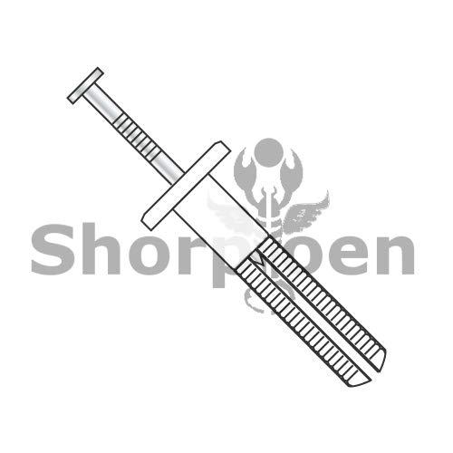 SHORPIOEN Round Head Nail in Anchor Nylon 3/16 x 1 1/2 BC-1024ANR (Box of 100) by Shorpioen