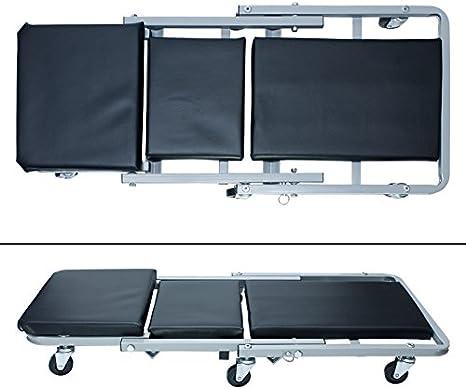 ECD Germany 2 en 1 Camilla/Silla de mecánico - Capacidad de 150kg ...