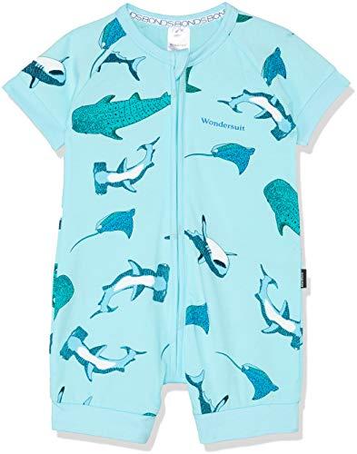 - Bonds Zip Romper (0-3 Months, Shark Bay Unreal Aqua)