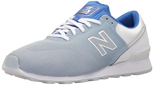 New Balance Women 696 Re-Engineered Lifestyle Fashion Sneaker Blue/White