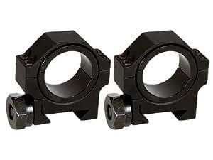 Amazon.com : AIM Sports 30mm Rings, Low, Weaver/Picatinny