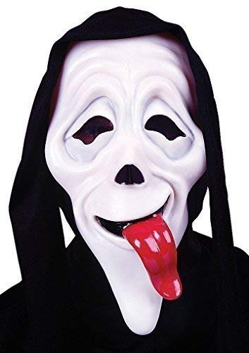 (Mens Wassup Scary Movie Mask Film Halloween Scream Horror Fancy Dress Costume Accessory (One Size))