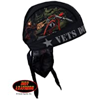 Authentic Bikers Premium Headwraps, VETS DON'T FORGET