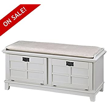 Pleasing Amazon Com Nakshop Shoe Rack Bench Seat For Entryway White Cjindustries Chair Design For Home Cjindustriesco