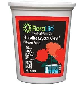 Cut Flower Food Floralife Crystal Clear 10