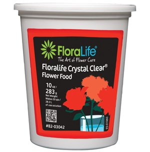 Cut Flower Food Floralife Crystal Clear 10 Ounce from Smithers