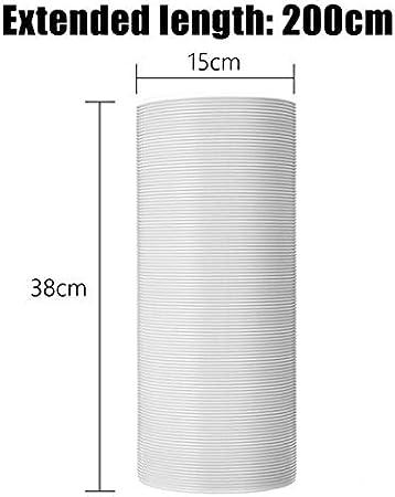 Zyj stores Manguera de Escape Mobile Manguera de Aire Acondicionado Tubo de Escape del silenciador de la Manguera 13 / 15cm 2 m / 1,5 m Universal (tamaño : 1 5m 13cm): Amazon.es: Hogar