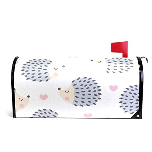Fengye Hedgehog Polka Dot Ideas Mailbox Magnetic Cover Medium Large Capacity Post Box Covers ()