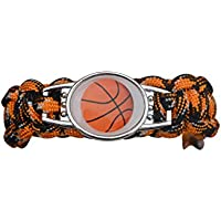 Infinity Collection Basketball Bracelet- Paracord Bracelets for Girls and Boys, Basketball Jewelry, Basketball Gift for Kids