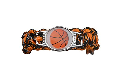 Basketball Bracelet Paracord Bracelets Jewelry product image