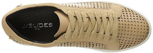 J Slides JSlides Womens Audrina Fashion Sneaker Camel O21Qtfjl