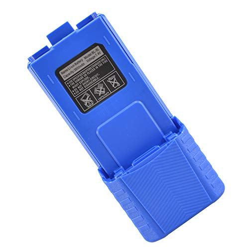 Extended Battery Bat - Rugged Radios BAT-RH5R-XL High Capacity 3800mAh Replacement Battery for RH-5R Handheld Radio - Rechargeable Lithium Ion Battery Pack