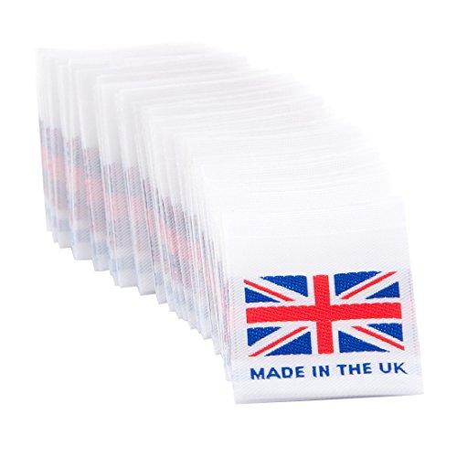 8123edb69ff6 Wunderlabel UK Flag Woven Crafting Craft Art Fashion Classic Ribbon ...