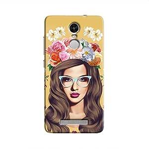 Cover it up Classy Flower Head Hard Case for Xiaomi Redmi 3S - Multi Color