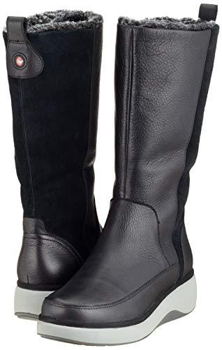 Pour Vista Femmes Hi2 noir Clarks De Un Combi Bottes Neige Noires xYq71RaA