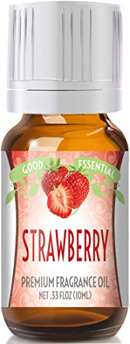Strawberry Scented Oil by Good Essential (Premium Grade Fragrance Oil) - Perfect for Aromatherapy, Soaps, Candles, Slime, Lotions, and More!