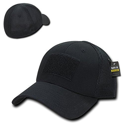 ical Low Crown Flex Fitting Mesh Back Cap - Black ()