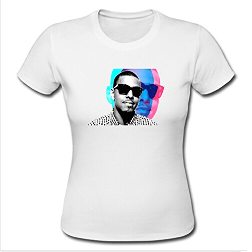 Nesth J Cole Womens Ladies Tee Shirt Personalized Customized Size S White