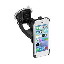 iGrip FT101826 - Soporte de Coches para Apple iPhone 5, Negro