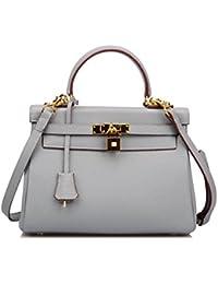 Women's Padlock 32CM 28CM 25 CM Shoulder Handbags Purses Hobo Bag