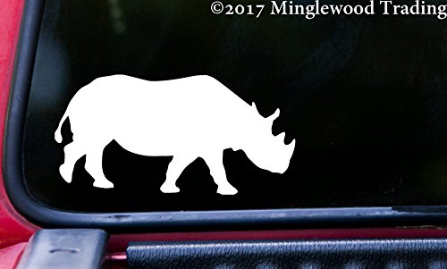Minglewood Trading RHINO Vinyl Decal Sticker 5