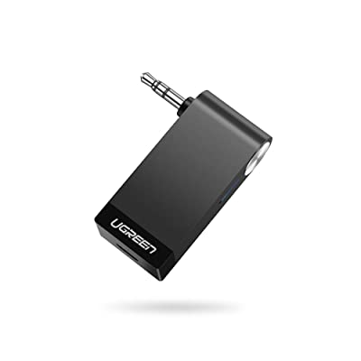 UGREEN Bluetooth Receiver Portable Mini Music Audio Adapter 4.1 Car Aux Adapter 3.5mm Stereo Hands-Free Car Kits for Home TV Car Stereo Sound System, Headphone,Speaker, Earbuds: Electronics
