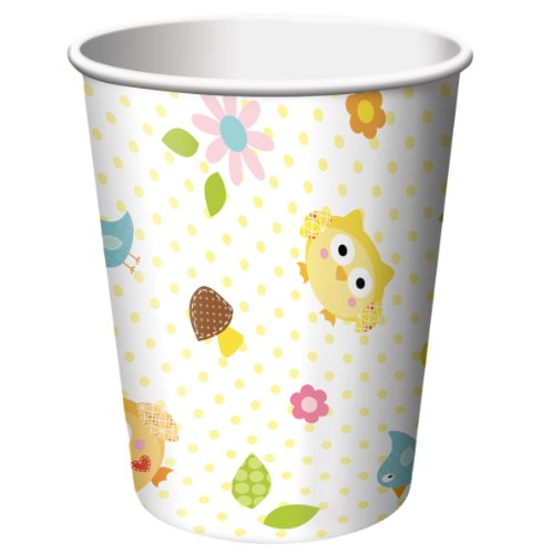 Creative Converting Happi Tree Sweet Baby Hot or Cold Beverage Cups, 8 Count, Health Care Stuffs