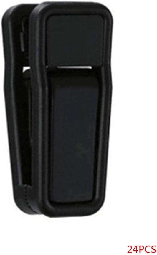 GFCGFGDRG 24 Piezas de pl/ástico Multi Percha Pinzas de Ropa Pantalones 24 PC pl/ástico Forma Calcetines Ropa Interior Una Clips Slim-Line