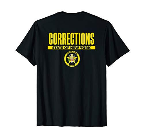 New York Correctional Officer Thin Gray Line Flag T-Shirt ()